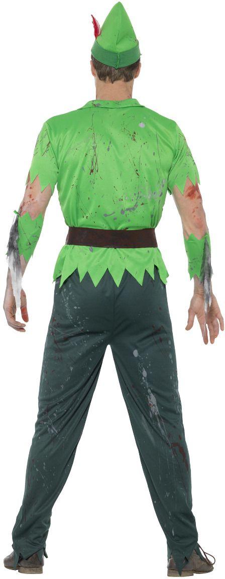 Peter pan zombie kostuum