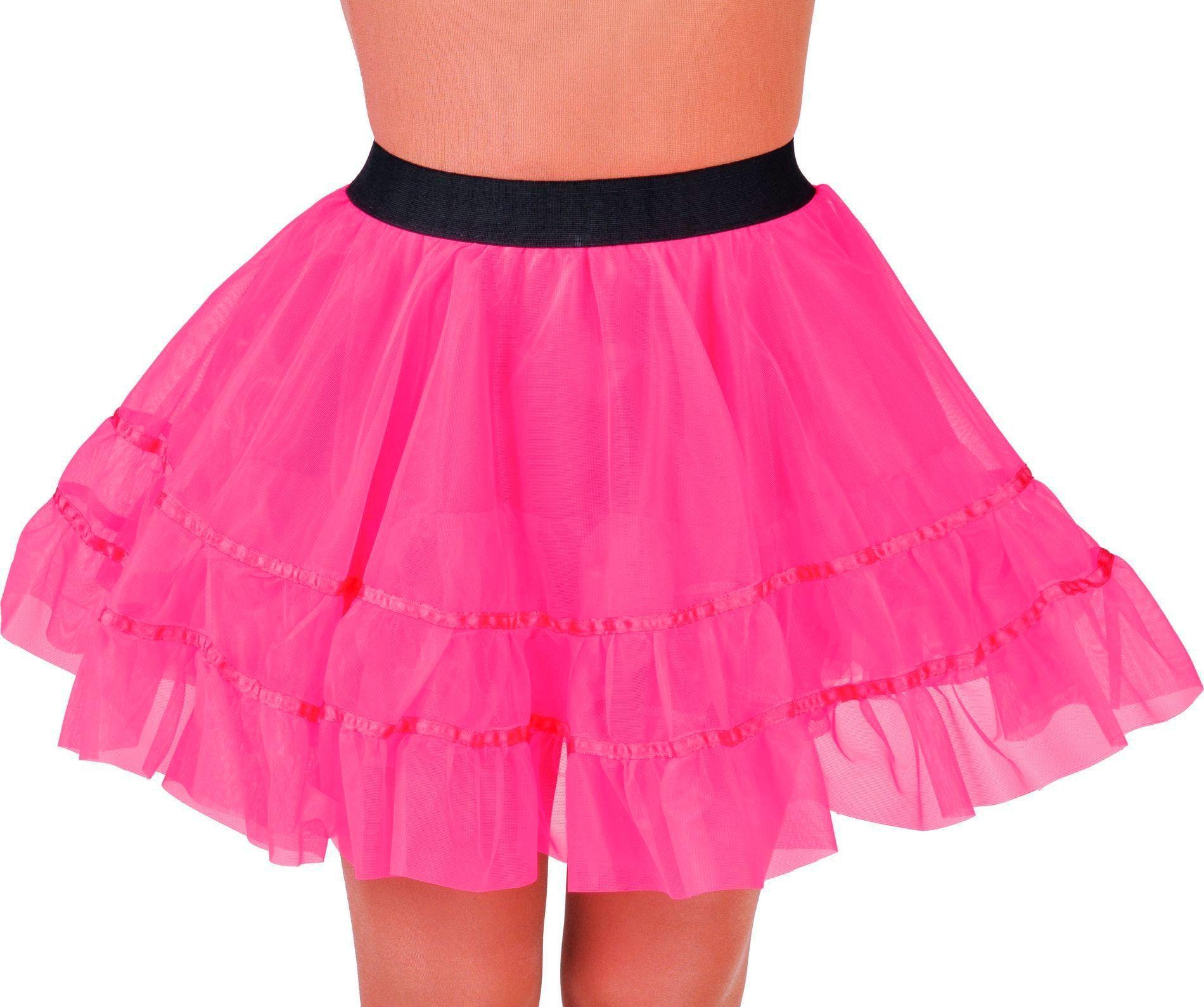 Petticoat rok roze