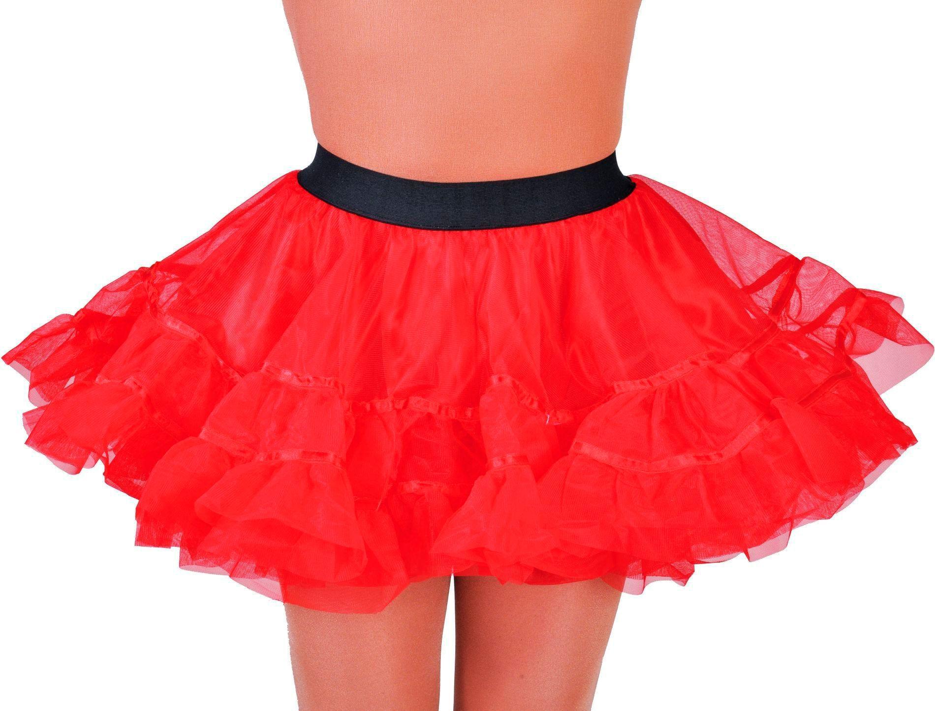 Petticoat rood dames