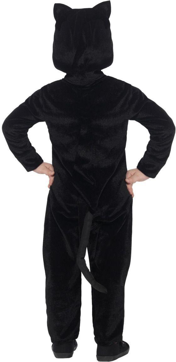Peuter katten outfit zwart