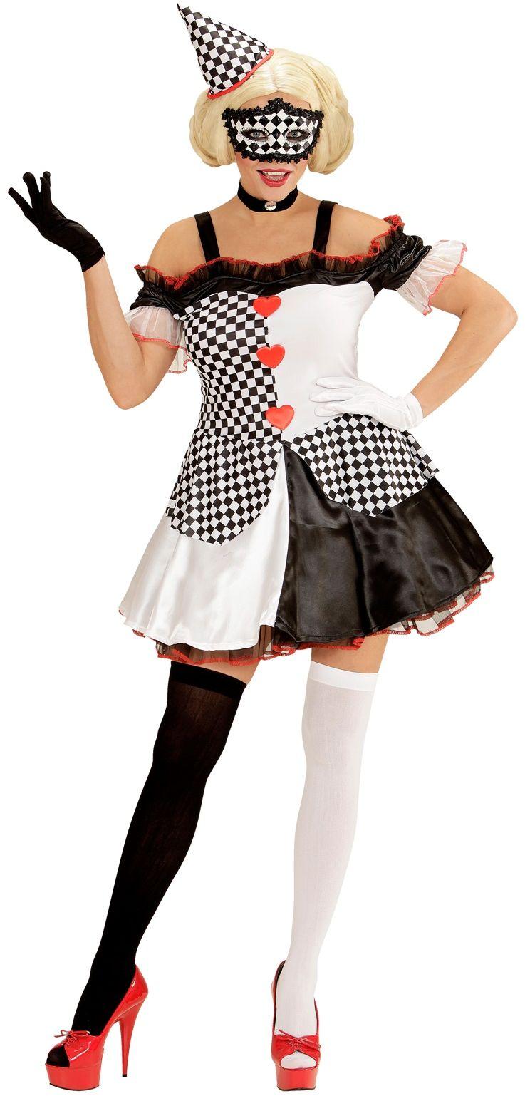 Pierrot clown meisje
