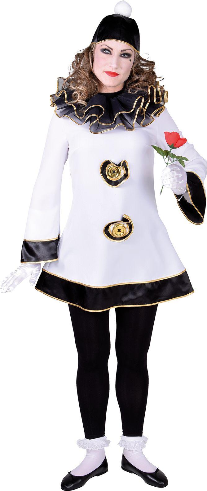 Pierrot jurk vrouwen
