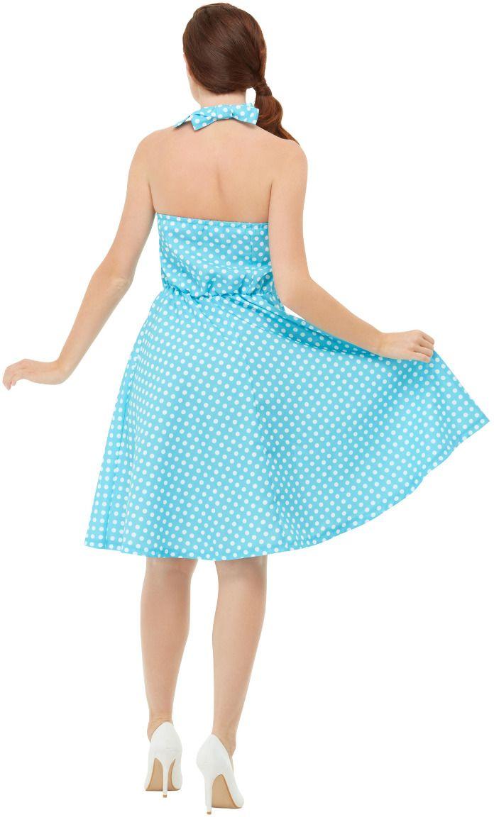 Pin up girl jurkje blauw