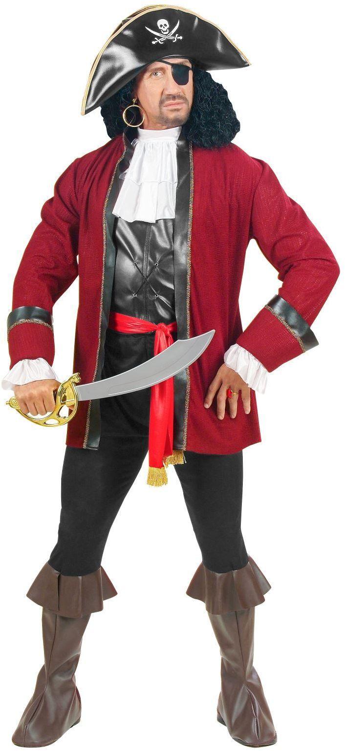 Piraat captain kostuum