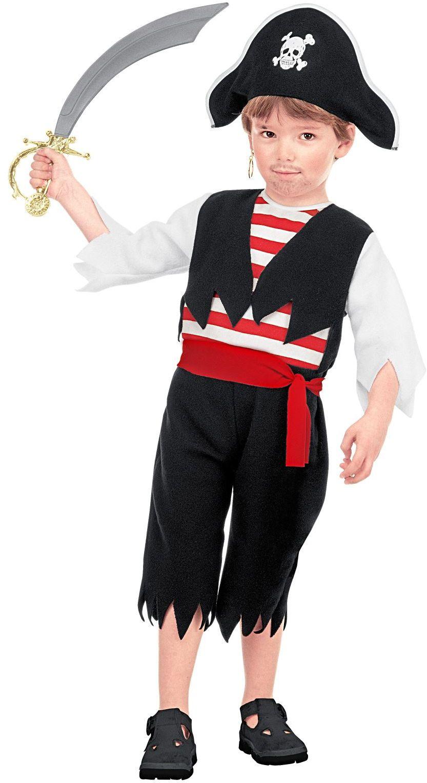 Piraat carnaval jongens