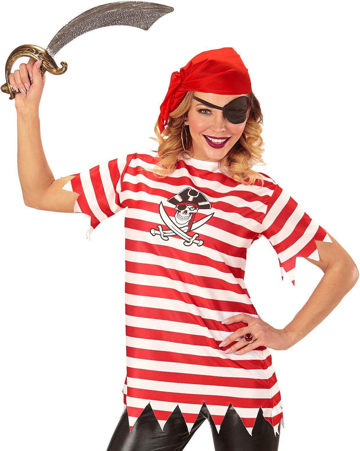 Piraat carnaval vrouw