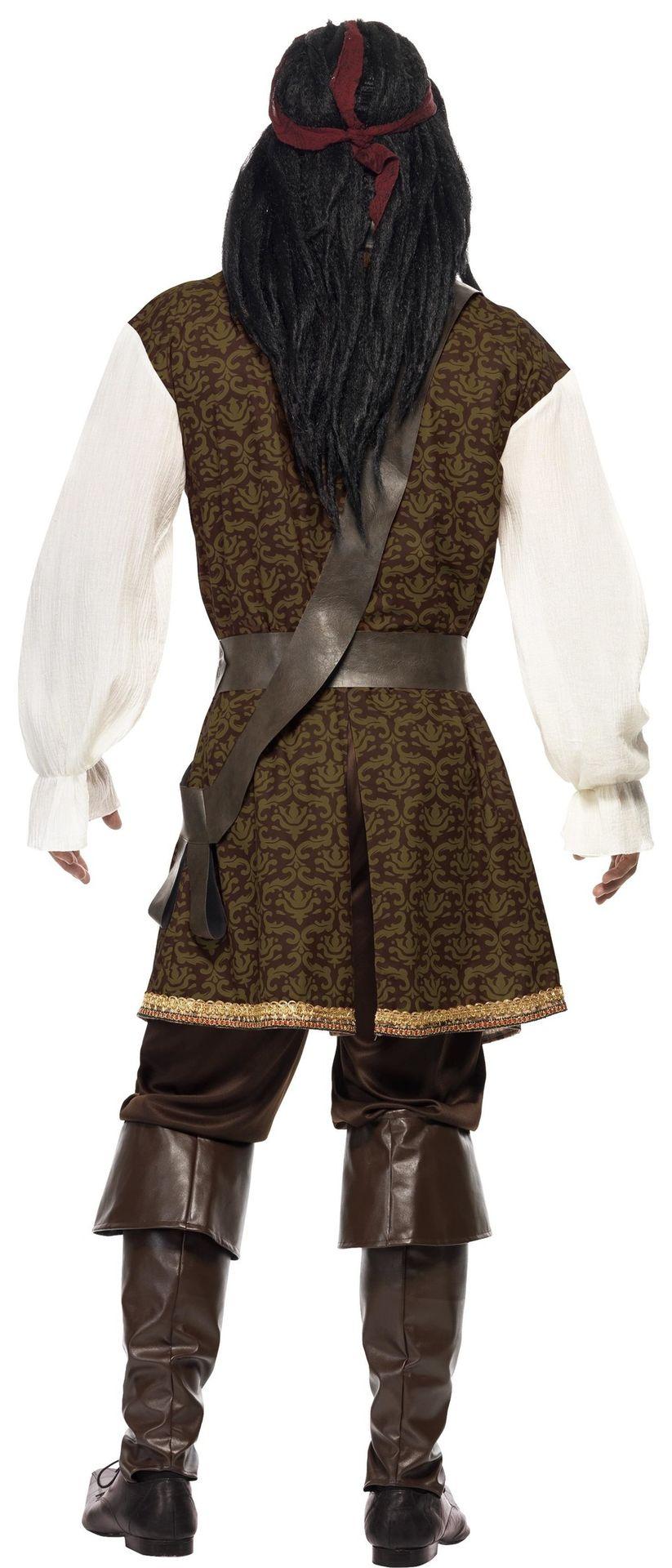 Piraat heren kostuum