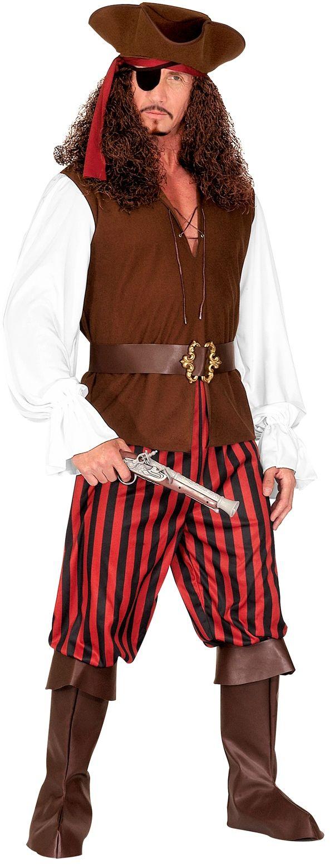 Piraat hoge zeeën kostuum