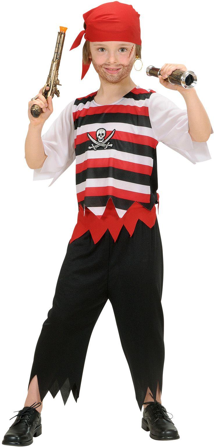 Piraat jongens kostuum