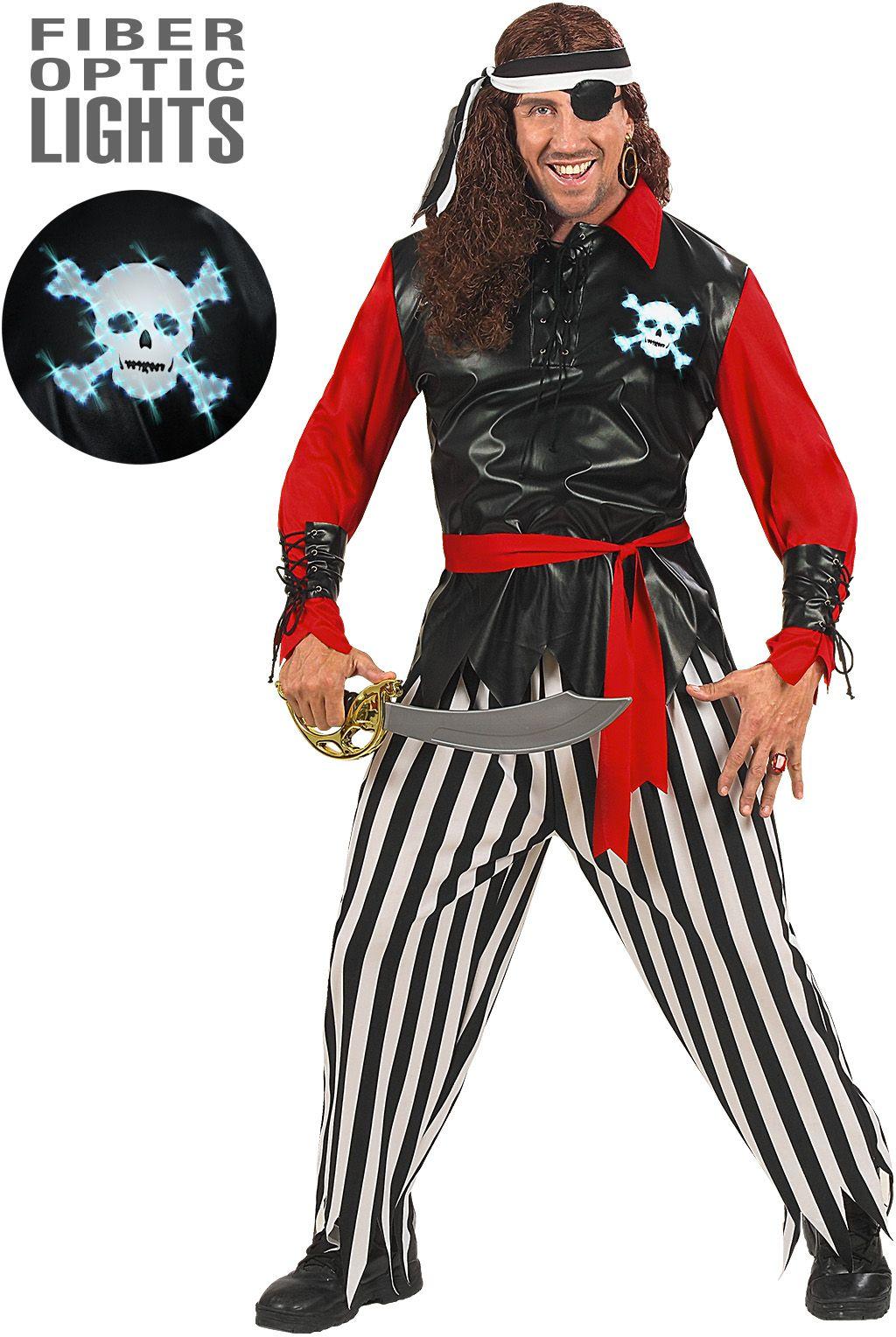 Piraat kleding heren