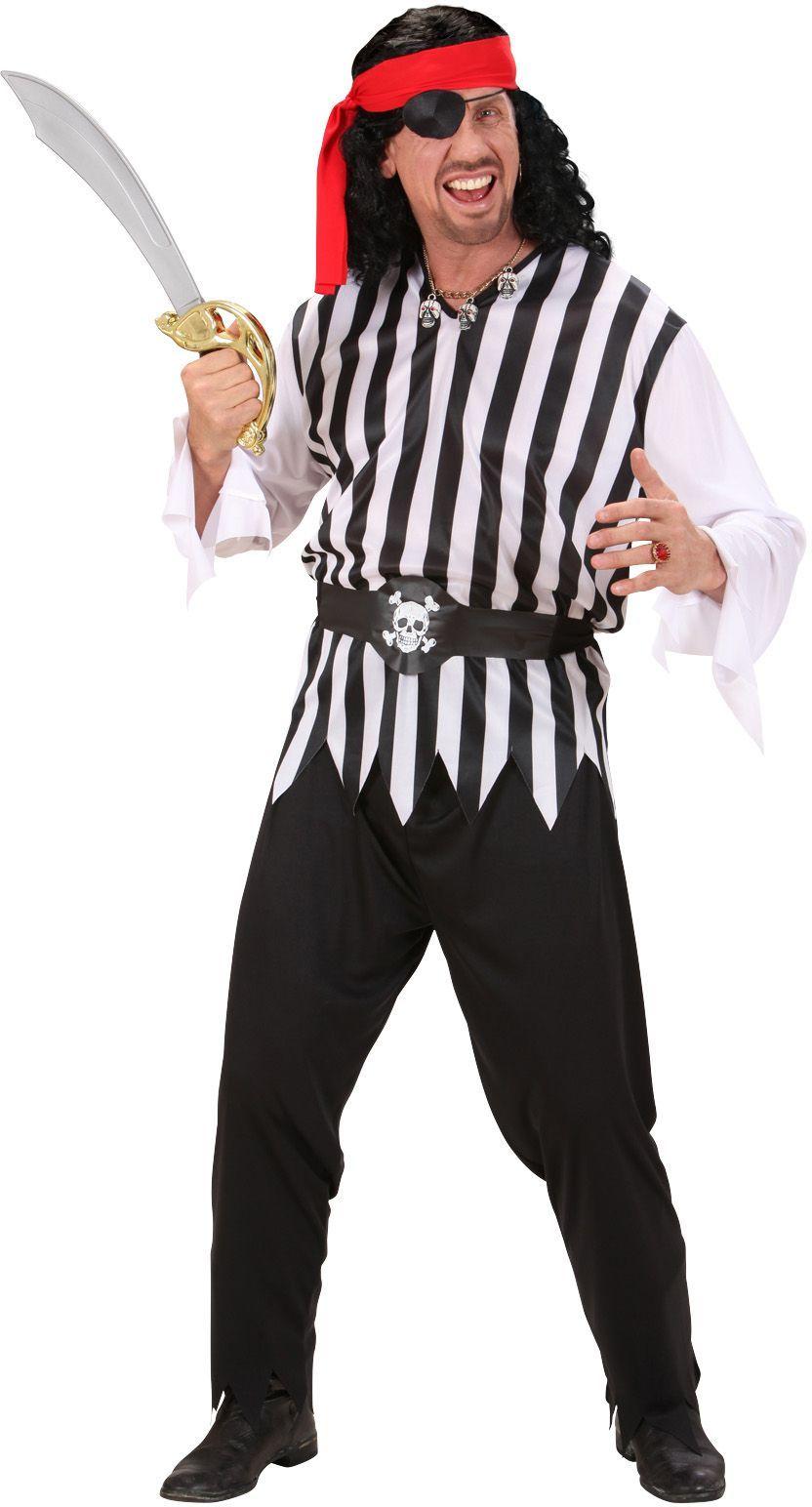 Piraat man kostuum