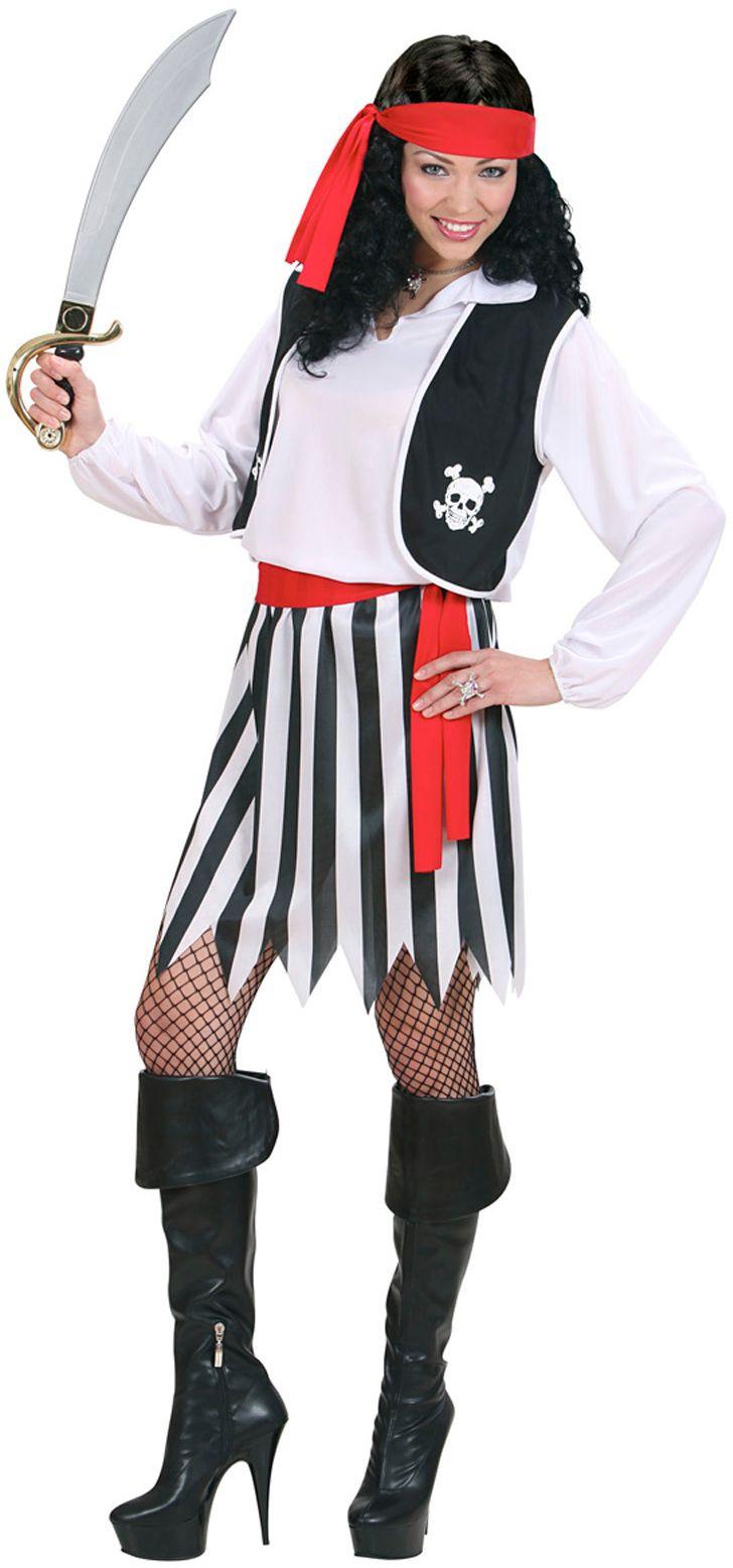 Piraat vrouw kostuum