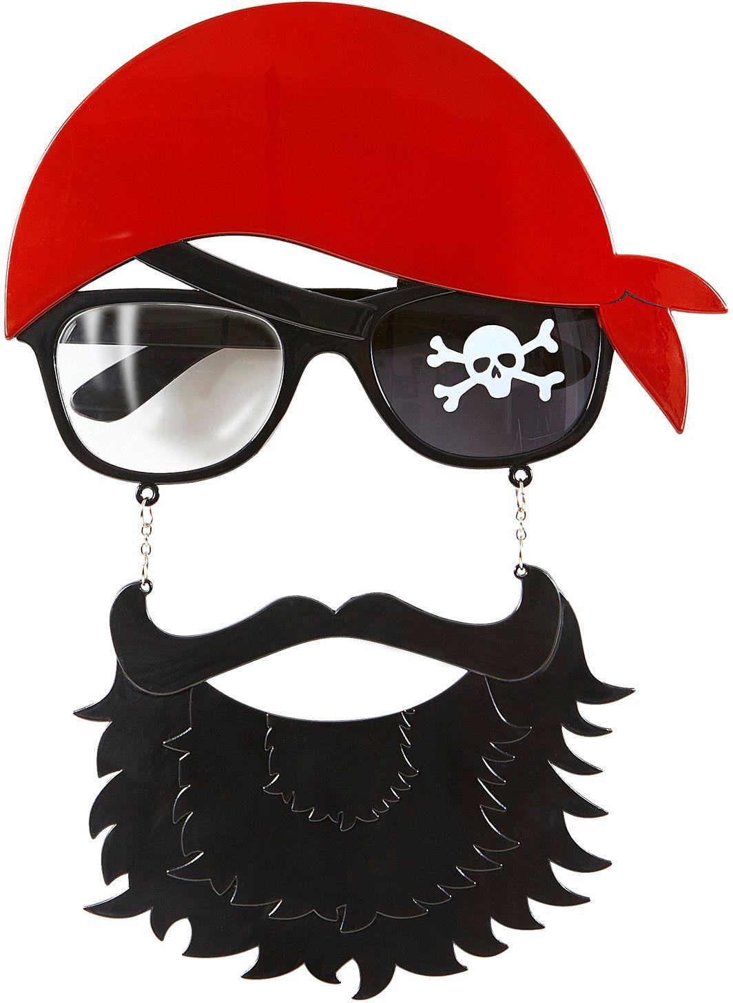 Piraten bril