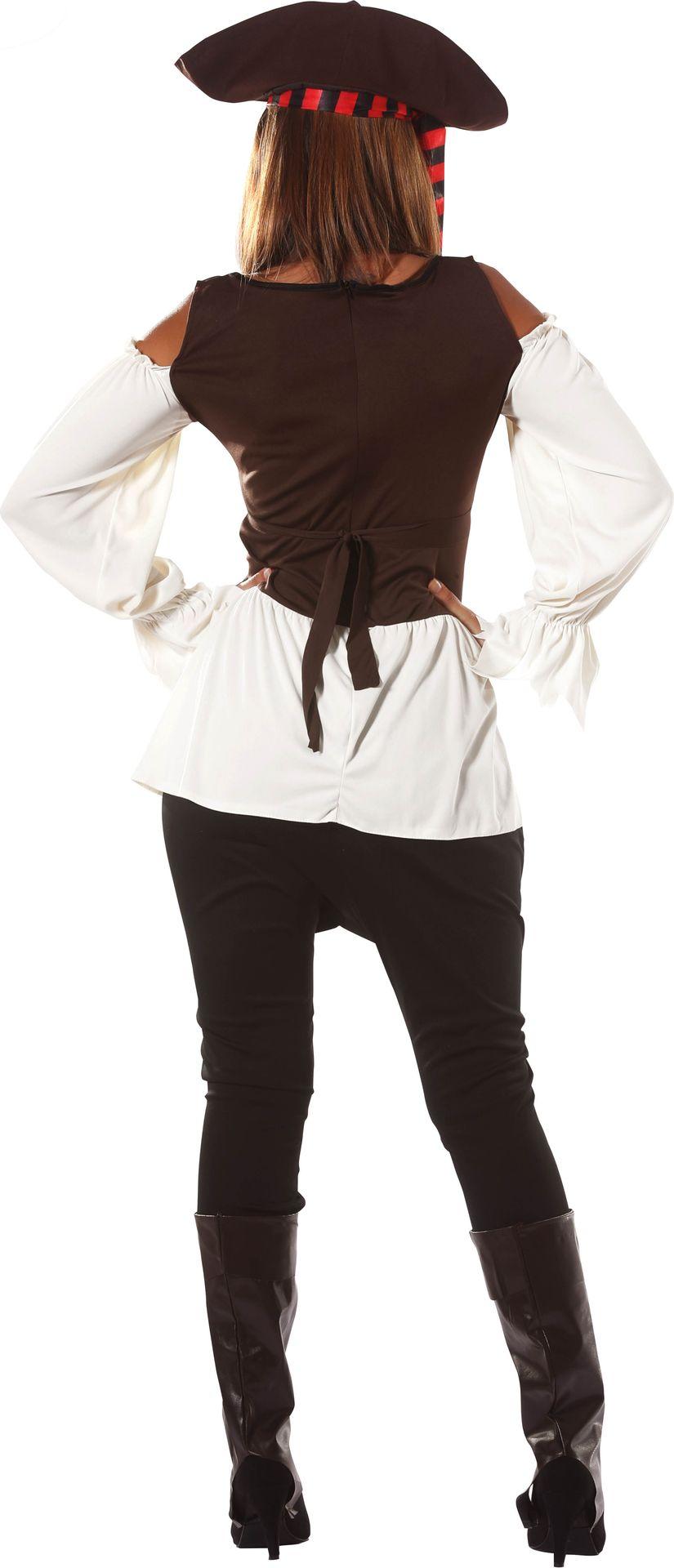 Piraten carnavalspak dames