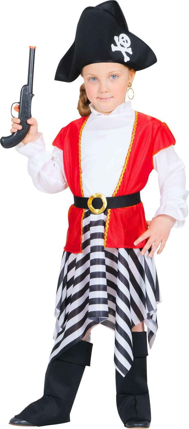 Piraten jurkje meisjes