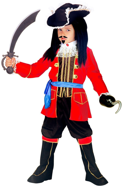 Piraten kapitein jongens kostuum