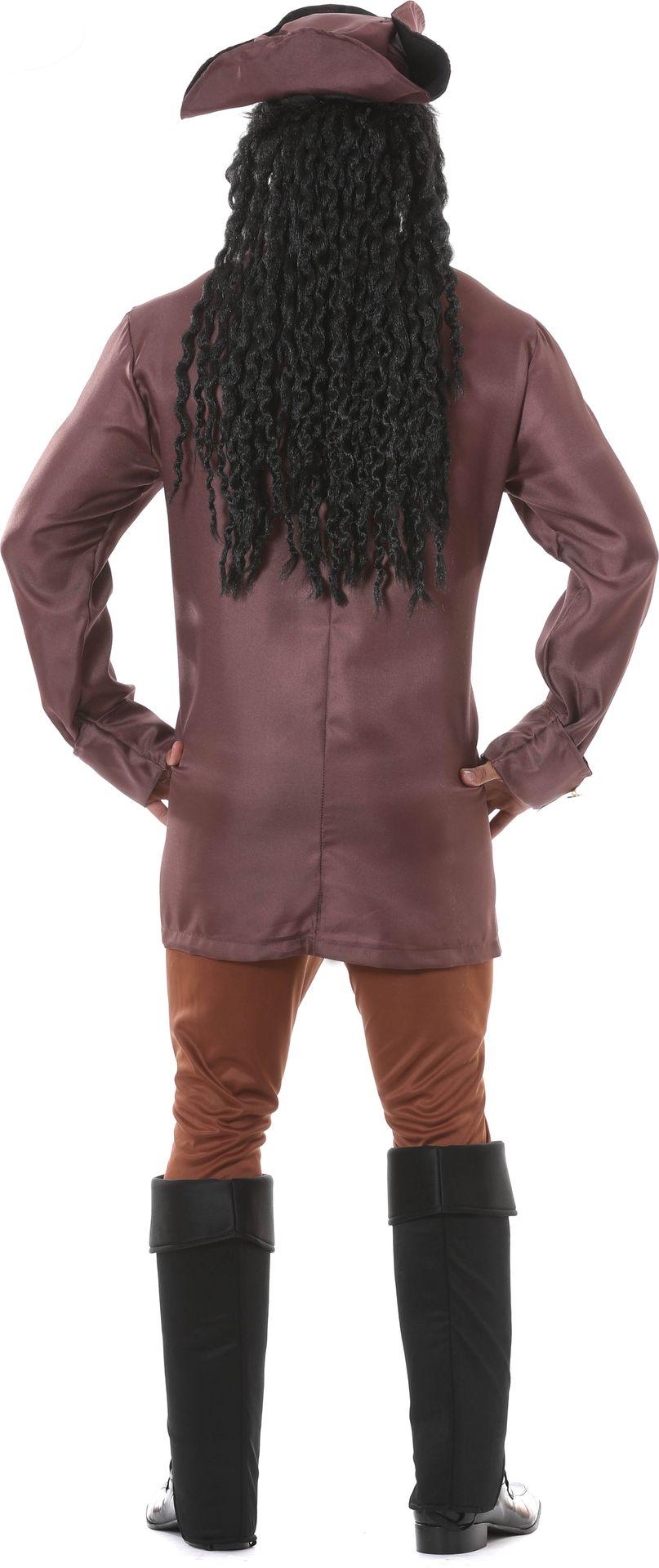 Piraten kapitein kostuum