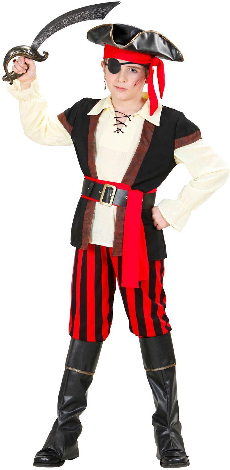 Piraten Kinderen Kostuum