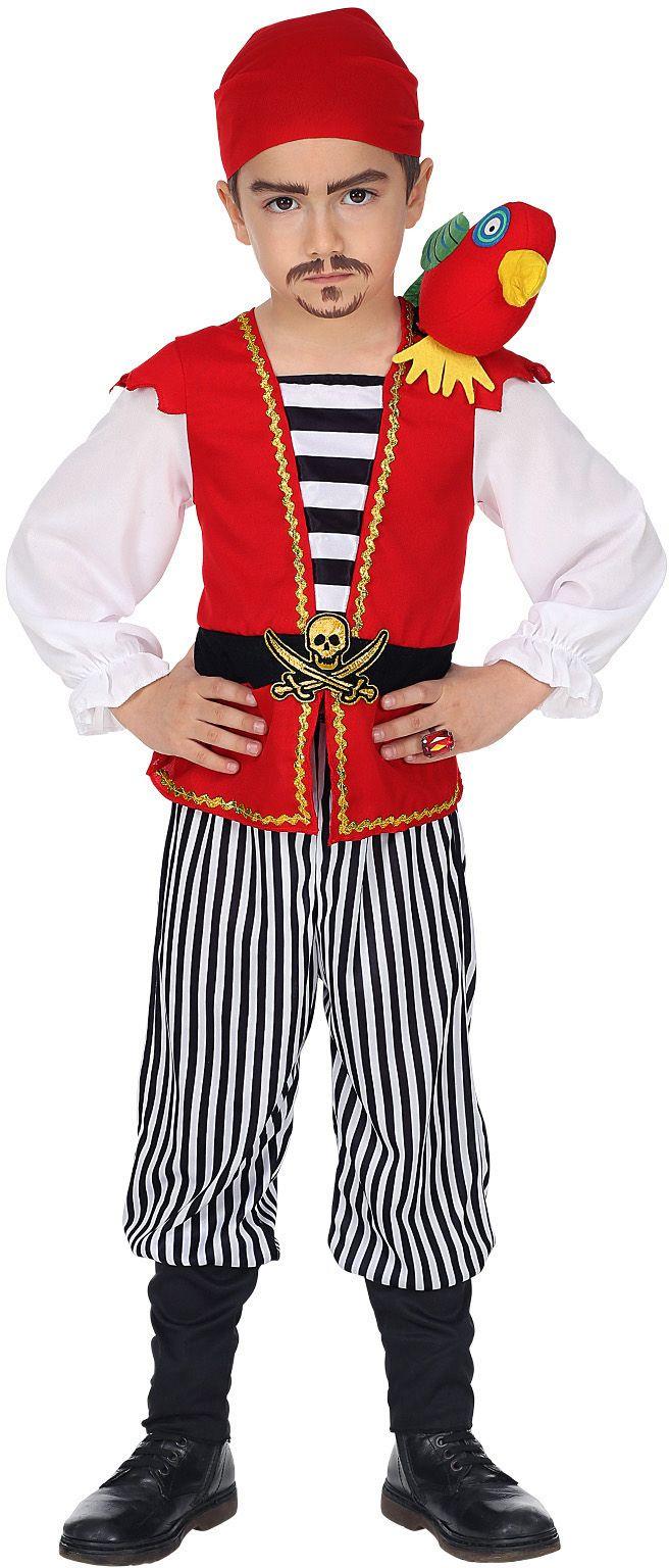 Piraten pak jongen