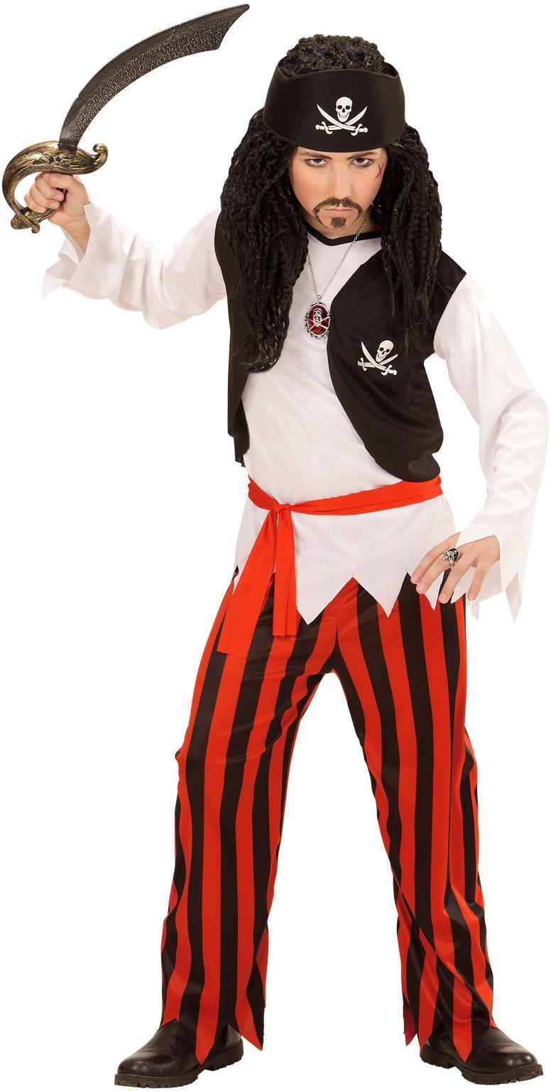 Piraten pakje carnaval kind
