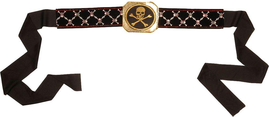 Piraten riem met gesp