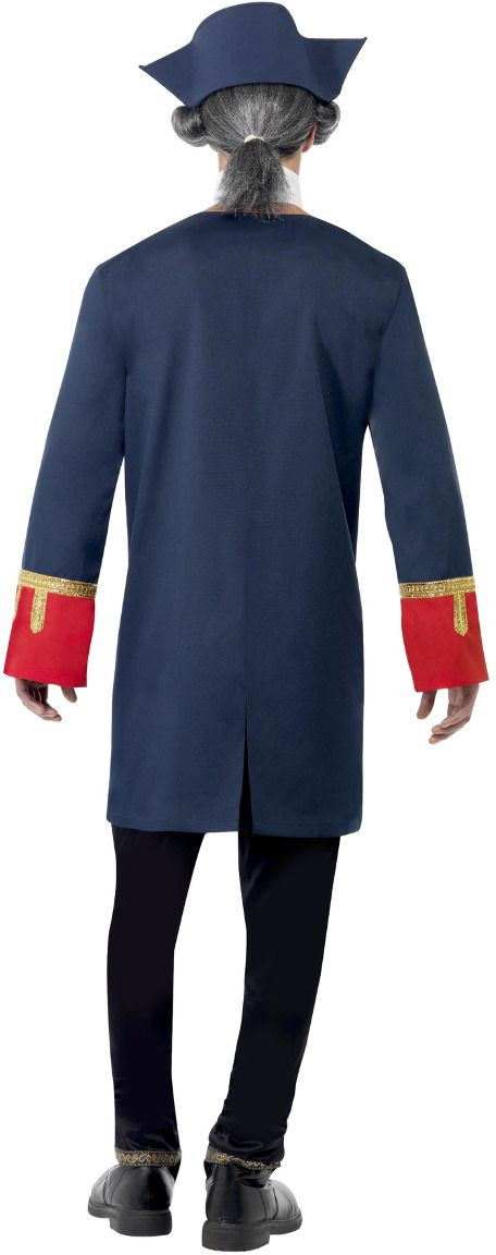 Piratencommandant kostuum