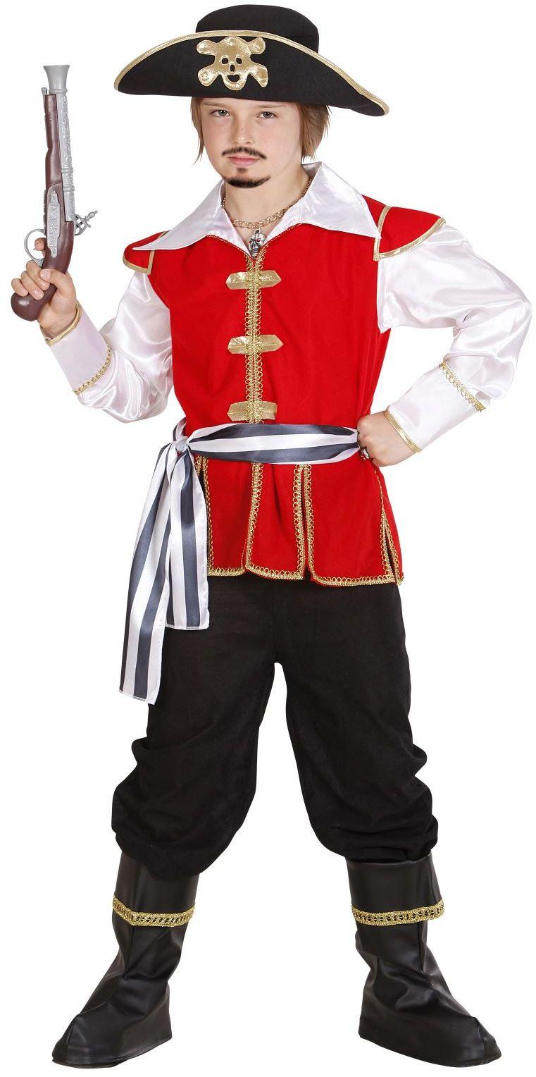 Piratenkapitein jongen kostuum