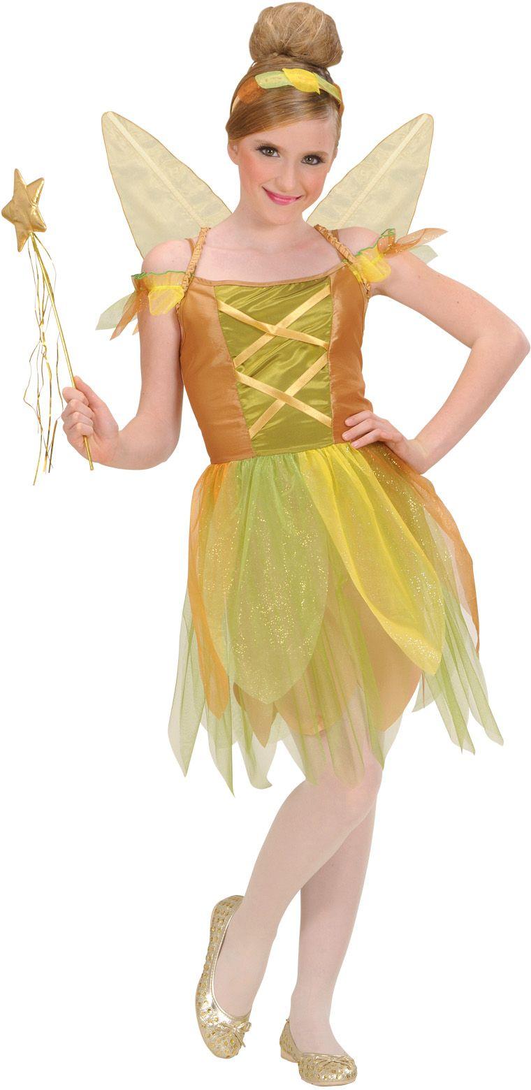 Pixie Gouden Woud Elf Kinderen Kostuum