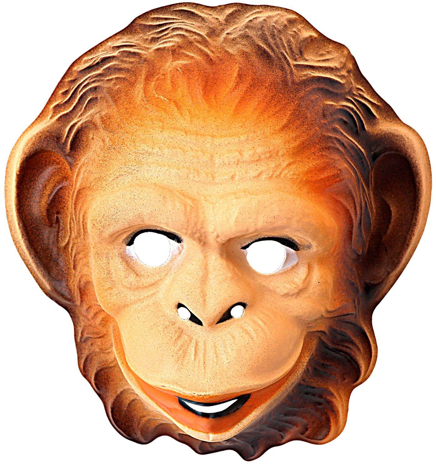 Plastic apenmasker