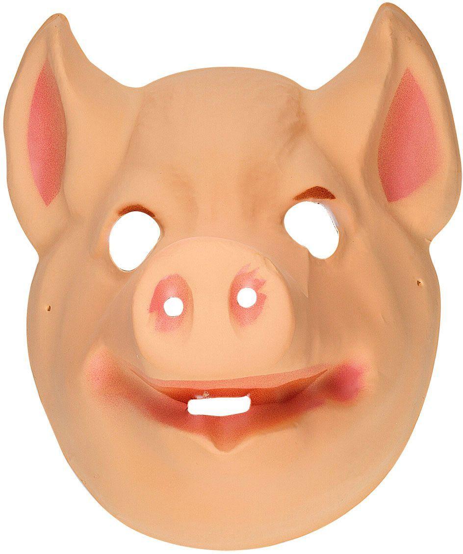 Plastic varken masker kind
