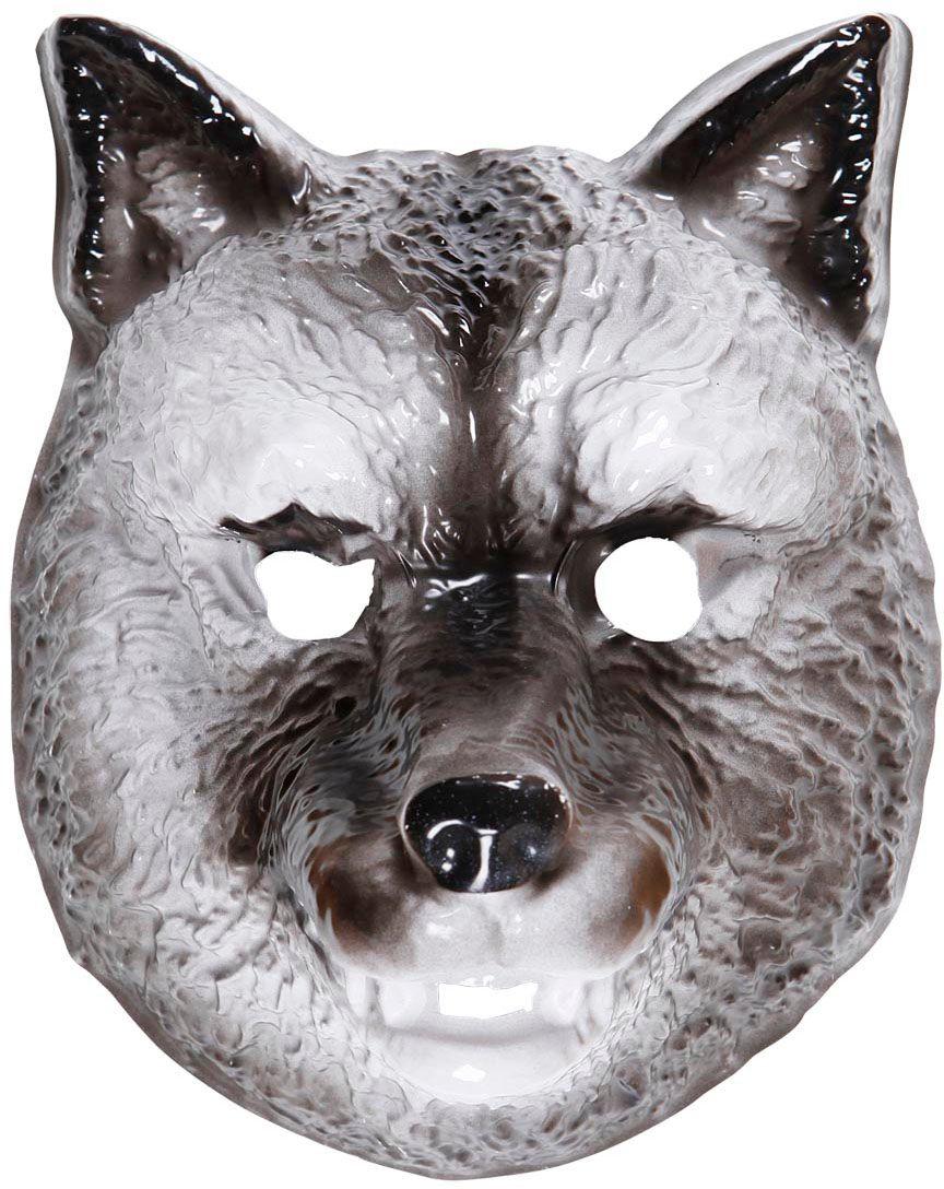 Plastic wolf masker kind