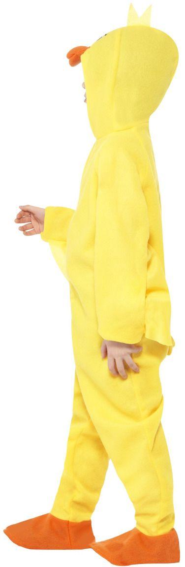 Pluche eend onesie kind