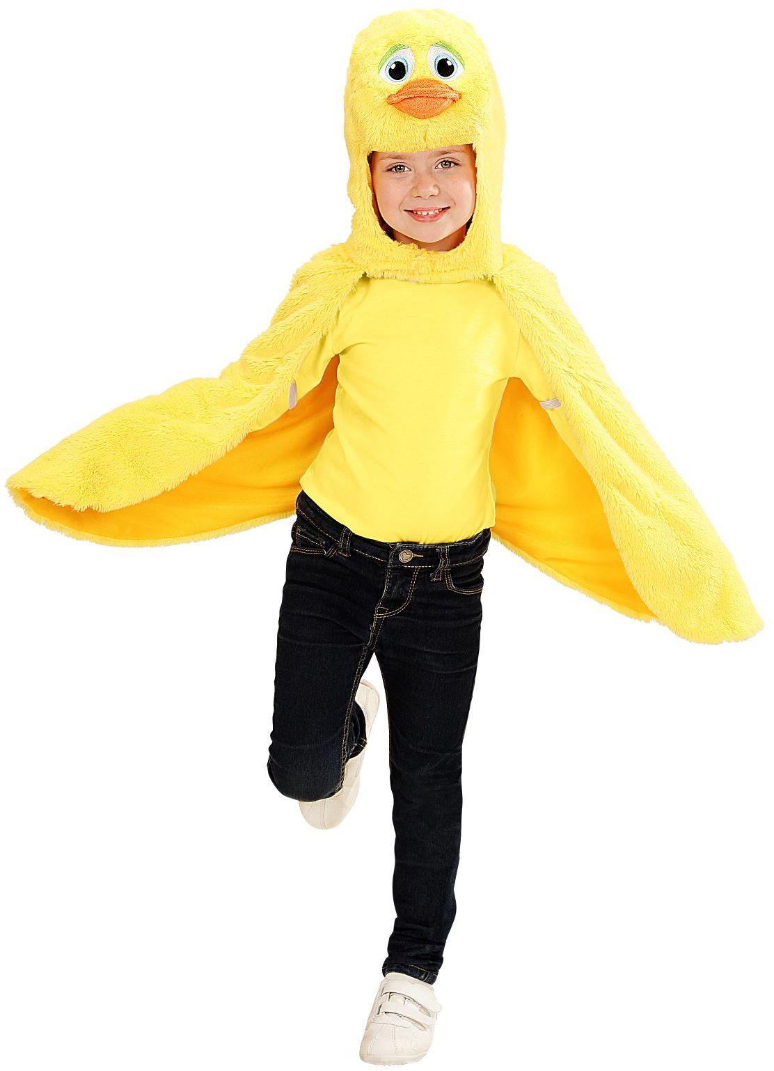 Pluche eenden cape kind