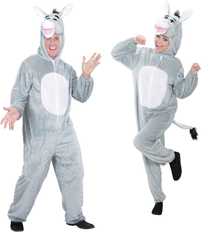 Pluche ezel kostuum