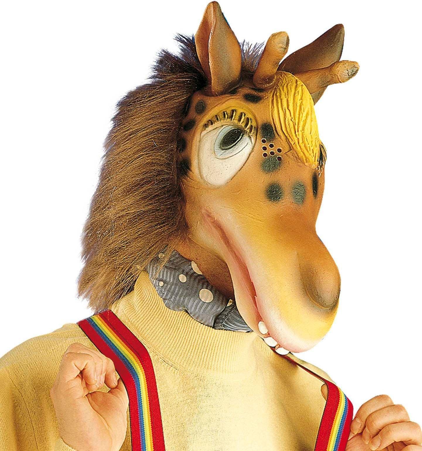 Pluche giraffe masker