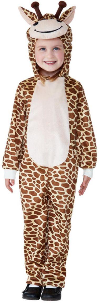 Pluche giraffen onesie kleuters