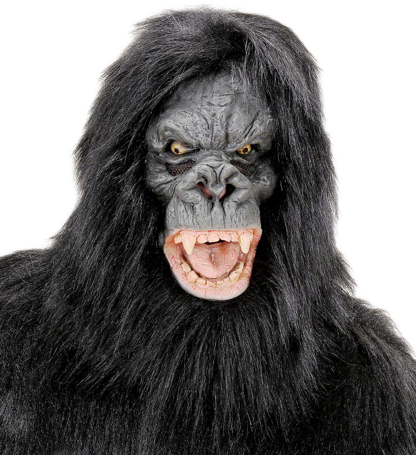 Pluche gorilla masker