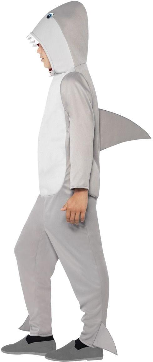 Pluche haaien onesie kind