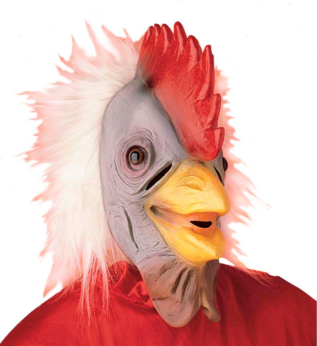Pluche hanen masker