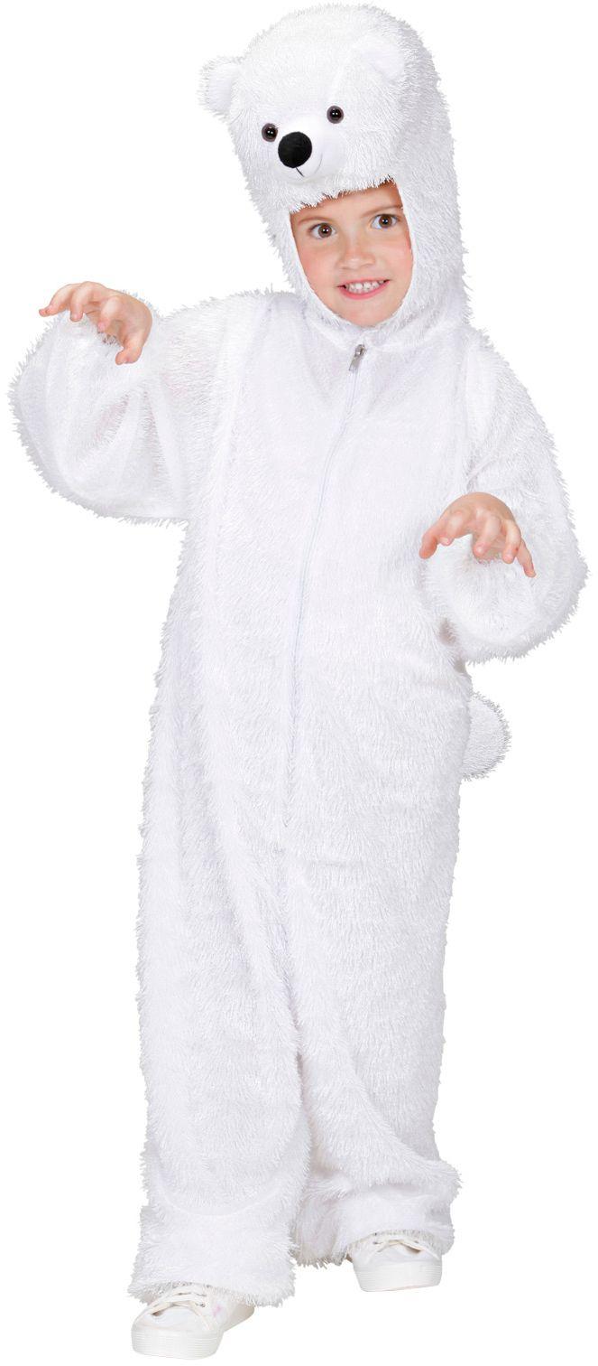 Pluche ijsbeer kind