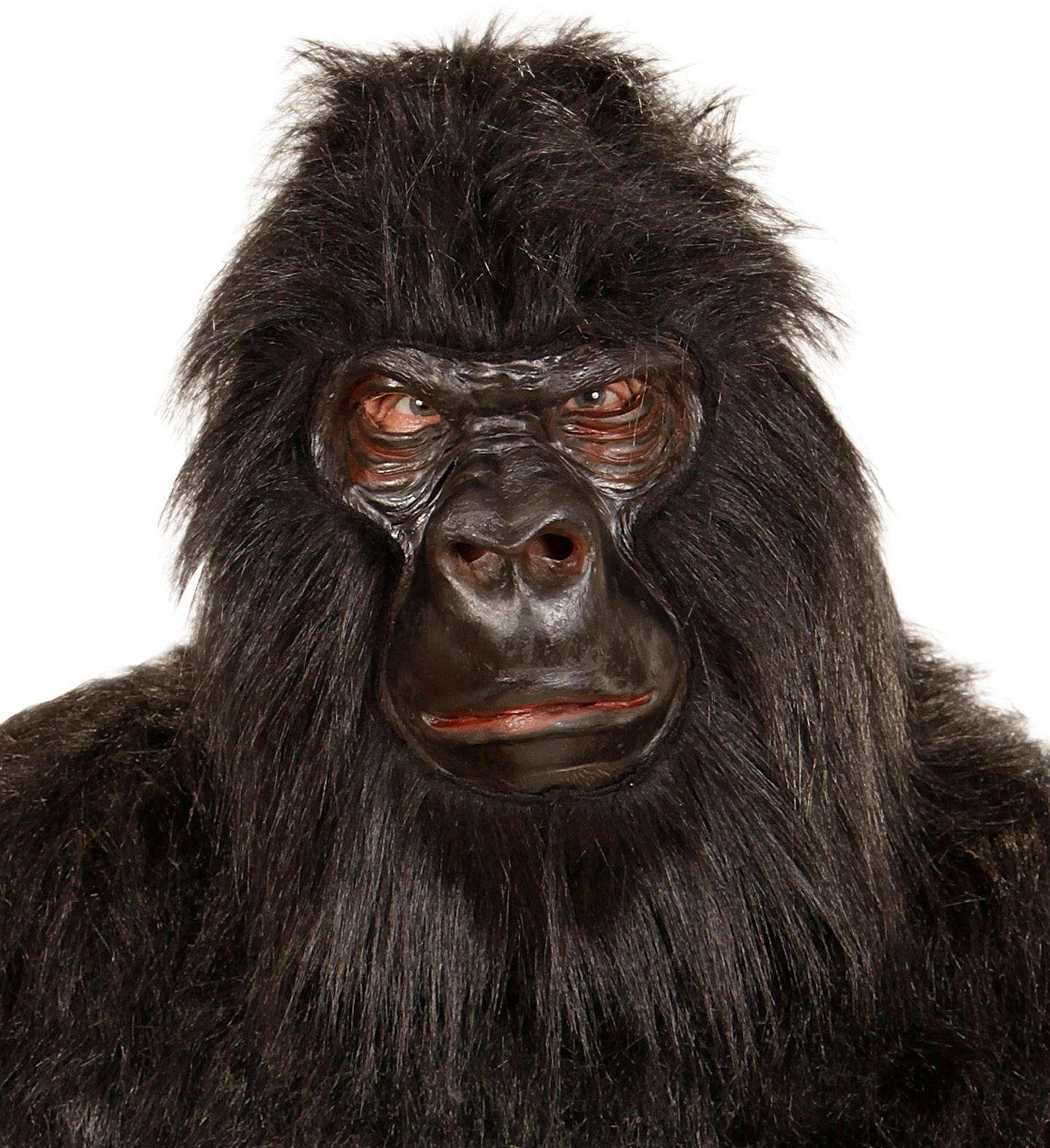 Pluche King Kong masker