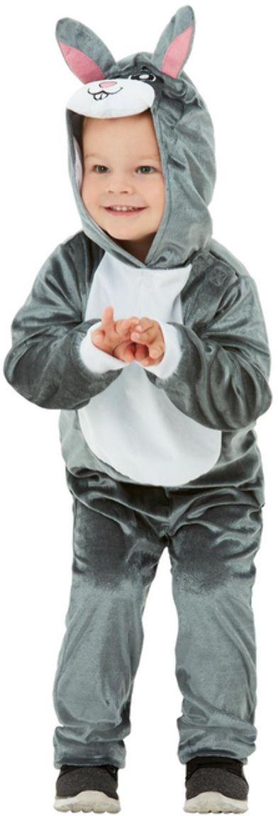 Pluche konijnen onesie kleuter