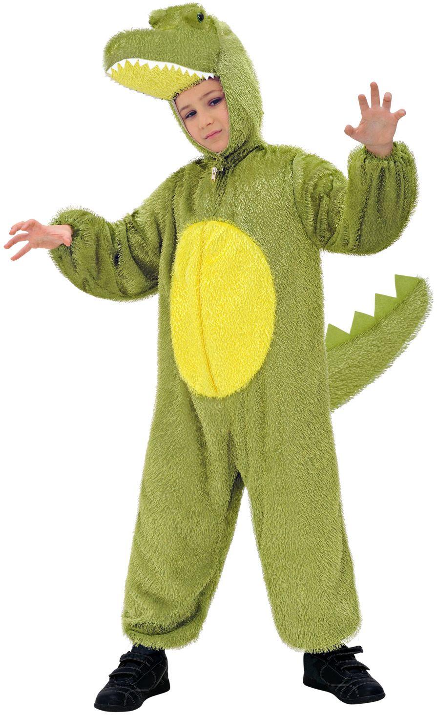 Pluche krokodil jumpsuit