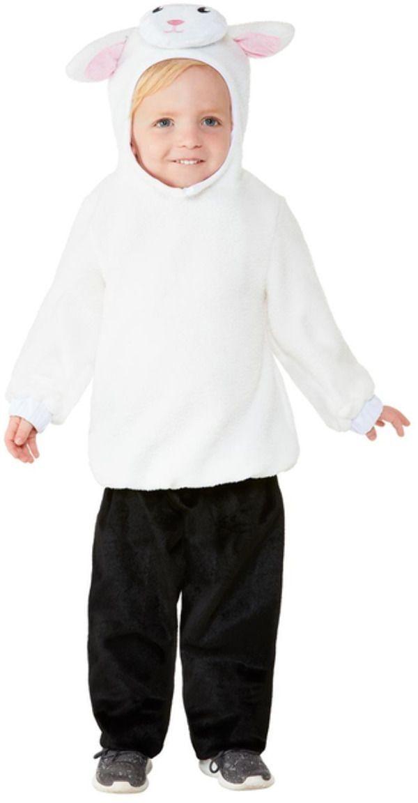Pluche lam kostuum kind
