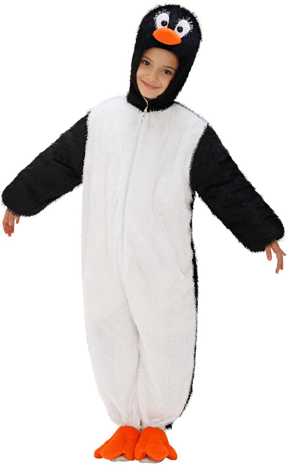 Pluche pinguïn jumpsuit