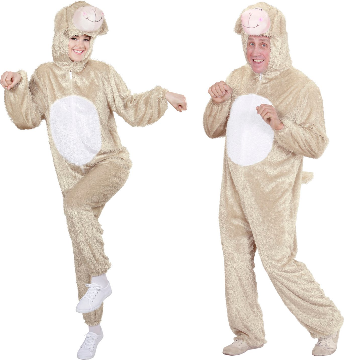 Pluche schaap kostuum