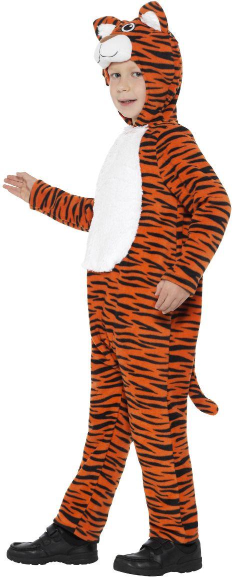 Pluche tiger onesie kind