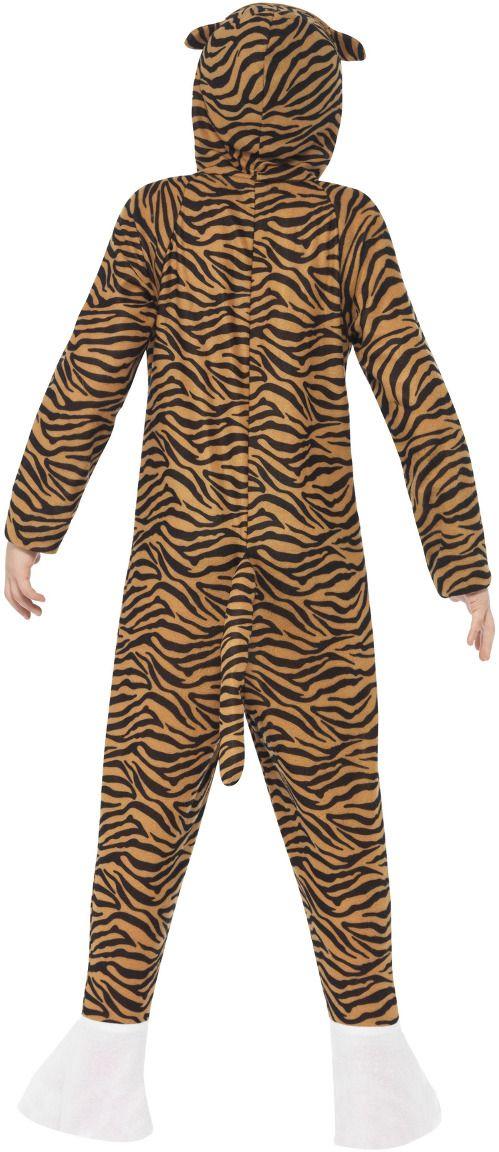 Pluche tijger onesie kind
