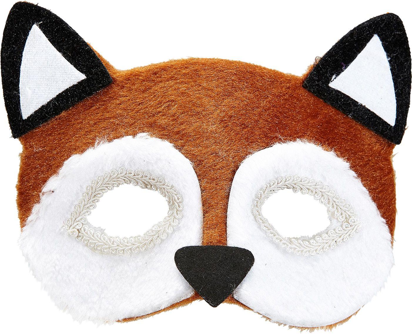 Pluche vos oogmasker
