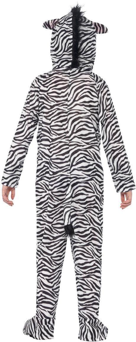 Pluche zebra onesie kind
